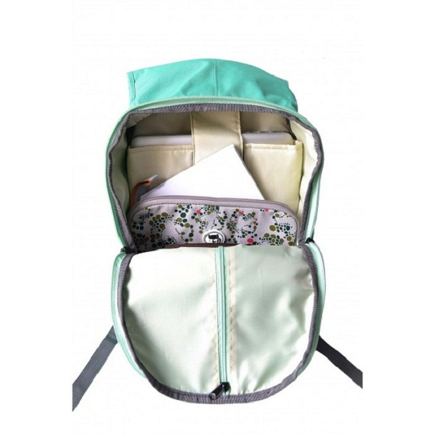 green Jade backpack baloonline 4