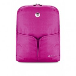 Balo Mikkor Betty Pretty laptop Backpack Hồng1