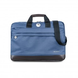 Ducer Briefcase Xanh Navy1