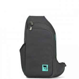 Balo 1 quai Mikkor D'Leh Sling Backpack Charcoal