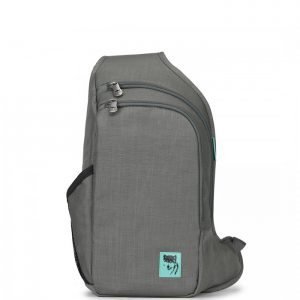 Balo 1 quai Mikkor D'Leh Sling Backpack Dark Mouse Grey