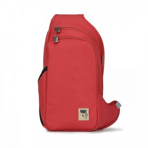 Balo 1 quai Mikkor D'Leh Sling Backpack Red2