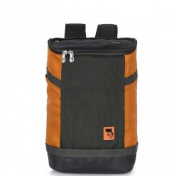 balo laptop mikkor irvin charcoal-orange